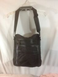 Cute Black Kenneth Cole Crossbody Bag Style 537985 Lots Of Pockets Pre-owned