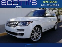 2016 Land Rover Range Rover SUPERCHARGED~ 1-OWNER~ BEST COLOR~ CLEAN CARFAX~ M 2016 Land Rover Range Rover Fuji White with 47118 Miles available now!