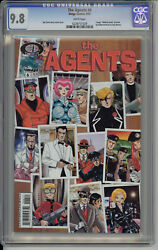 The Agents 6 With Walking Dead Preview Cgc 9.8 Nm/mt