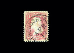 Us Stamp Used Vf S64 Andnbspfresh Stroudsburg Pa. April 12th Cancel Very Fresh P