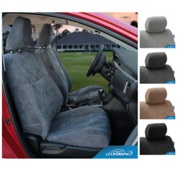 Coverking Custom Fit Seat Covers Suede For Chevy Corvette