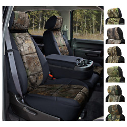Seat Covers Realtree Camo For Hummer H2 Coverking Custom Fit