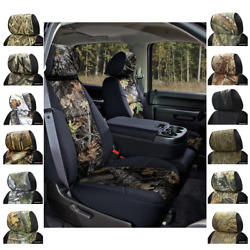 Seat Covers Mossy Oak Camo For Chevy Suburban Coverking Custom Fit
