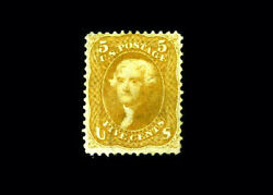 Us Stamp Used, F/vf S67 Super Light Black Cancel, Appears Mint At First Glance