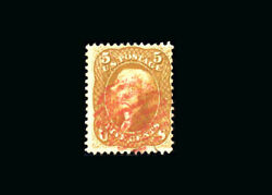 Us Stamp Used, F/vf S67 Nice Red Cancel, Good Freshness To The Stamp