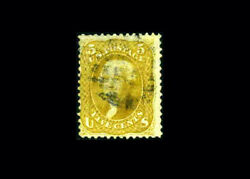 Us Stamp Used F/vf S67b Much Scarcer Color Variety With Quite Light Cancel