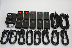 10 Players Qz-825 Lockout Buzzer System For Quiz Bowl