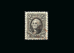 Us Stamp Used Super B S69 Light Black And Red Cancels A Real Gem