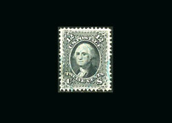 Us Stamp Used Xf/super B S69 Gem Quality With Very Light Blue Cancel Very Fre