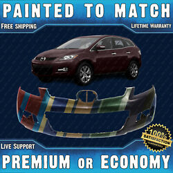 New Painted To Match - Front Bumper Cover Fascia For 2007-2009 Mazda Cx-7 07-09