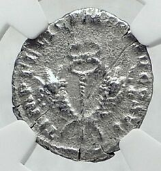 Commodus The Gladiator Emperor Authentic Ancient 190ad Roman Coin Ngc I81346