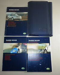 Document Kit + Manual Owner's Manual + Wallet Range Rover Stand 2005
