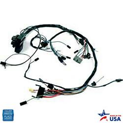 1963-1964 Nova Chevy Ii Dash Harness Ss With Factory Gauges With Backup Lights
