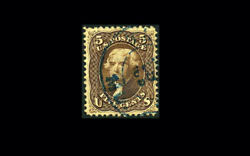 Us Stamp Used, Vf S95 lovely Blue Date Cancel