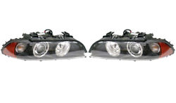 Pair Set Left And Right Genuine Xenon Headlights Lamp S522a For Bmw E39 M5 Sedan