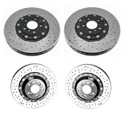 Genuine Front And Rear Carbon Ceramic Disc Brake Rotors Kit For Bmw F82 M4 Gts 16