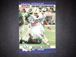 Vintage 1990 Pro Set Football Cardand039s You Pick Choose Nfl Free Shipping