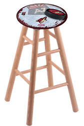 Holland Bar Stool Co. Oak Counter Stool In Natural Finish With Arizona Coyote...
