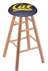 Holland Bar Stool Co. Oak Counter Stool In Natural Finish With Cal Seat Rc24o...