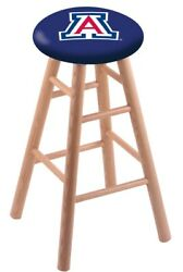 Holland Bar Stool Co. Oak Counter Stool In Natural Finish With Arizona Seat R...