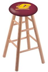Holland Bar Stool Co. Oak Counter Stool In Natural Finish With Central Michig...