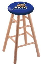Holland Bar Stool Co. Oak Counter Stool In Natural Finish With Grand Valley S...