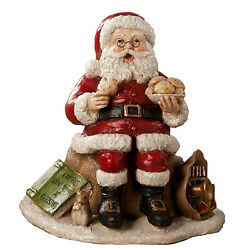 Bethany Lowe Counting Calories Santa Claus Cookies Christmas Retro Vntg Decor