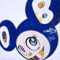 Takashi Murakami And Then... All Things Good And Bad Ed.300 Dob Blue Authentic