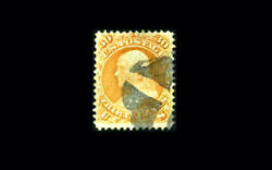 Us Stamp Used, Vf S100 Very Fresh Color And Attractive Cancel, Clean Pse Certif