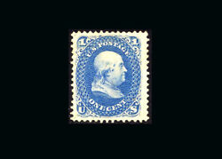 Us Stamp Mint, Xf S102 fresh Color, Lightly Hinged Twice On Original Gum
