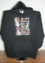 I Will Watch Here Or There I Will Watch Everywhere Hoodie Sweatshirt Xl Black