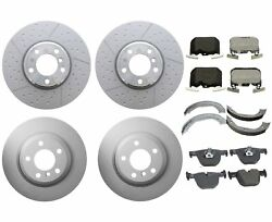 Genuine Front And Rear Brake Kit Disc Rotors Pads Shoes For Bmw F30 F32 340ixdrive