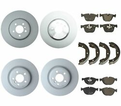 Genuine Front And Rear Brake Kit Disc Rotors Pads Shoes For Bmw F01 F02 F07 550igt