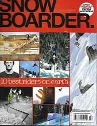 Snow Boarder Magazine Riders Of The Year Argentina Beer Belts Snoqualmie Days