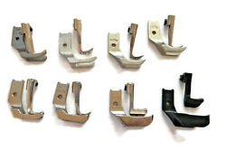 Consew Sewing Machine 206rb 225 226 Welting Piping Walking Foot Set 8 Pairs