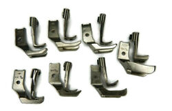 Consew 255rb Sewing Machine Welting Piping Walking Foot Set 7 Pairs