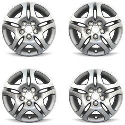 Set 4 16 Silver Replacement Wheel Fits 05-10 Honda Odyssey 16x7 5x120 +50mm