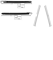 Chevy Chevelle Inner And Outer Rocker Panel Set Left And Right 1964-1967