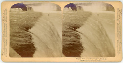 Stereo, Usa, Niagara Falls From Prospect Point, 1894 Vintage Stereo Card - Stroh