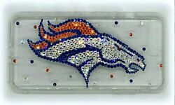 Bling Denver Broncos Phone Case Made With Crystals