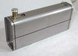 Tanks Inc. Universal Stainless Steel Fuel Tank With 3 Threaded Neck And Cap U9-ss