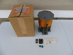 Lionel Postwar 30 Operating Water Tower W/ Box And Insert,controller,wires,instruc