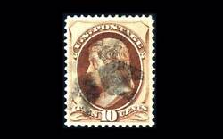 Us Stamp Used Xf S139andnbsp Andnbspgem Centering Light Cancel Easy To See Grill