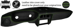 Green Stitch Leather Dashboard Leather Cover For Alfa Romeo Spider S2 S3 S4 105