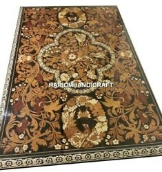 Adorable Marble Dining Table Tops Traditional Inlay Work Home Garden Decor H4888