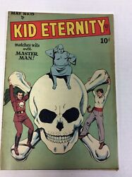 Kid Eternity 15 Skull Cover 1949. None Have Sold In Years
