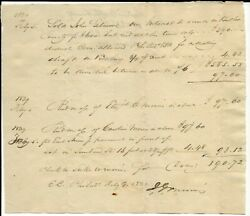 1829 Land Sale From G Morris To John Gilmore In Butler Cty Pa.