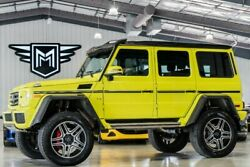 2017 Mercedes-Benz G-Class G 550 4x4 Squared Mercedes-Benz G-Class Exclusive High-Gloss Electric Beam with 22722 Miles for s
