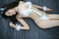 XS-S Naughty Things Sexy Kitty Babydoll Cute White Feather Lingerie Japanese #29