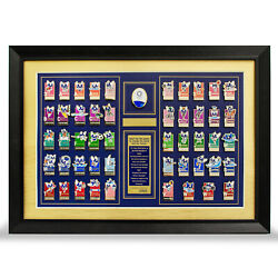 Tokyo 2020 Olympic Games Mascot Ol0107 Frame Pin Badge Set From Japan F/s